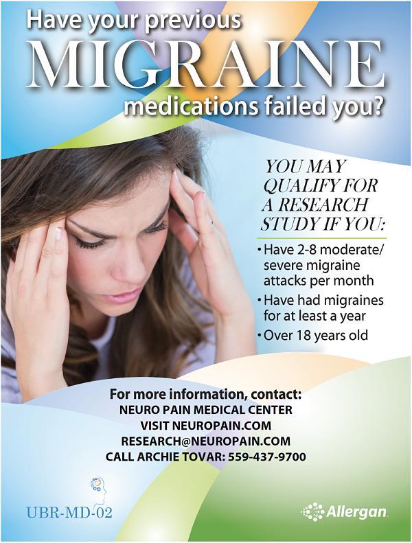 Fresno migraine specialist Dr Bhatia